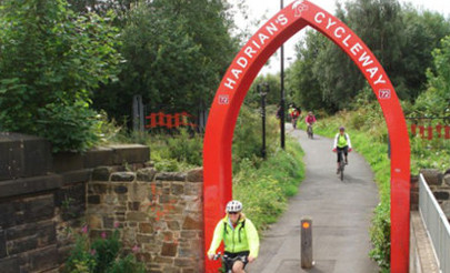 hadrians holiday cycleway